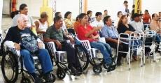 Realizamos donación a 121 personas con discapacidad