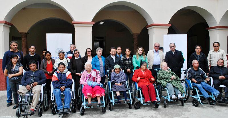 donacion sillas ruedas cuenca