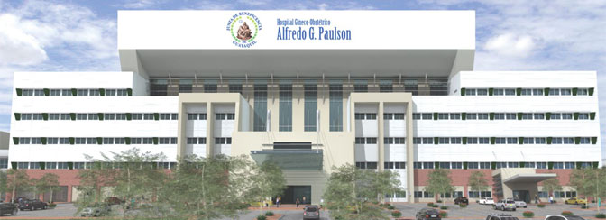 Proyecto Nuevo Hospital Gineco Obstétrico Alfredo G. Paulson
